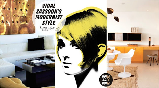 Vidal Sassoon's Modernist style: from hair to interiors -
