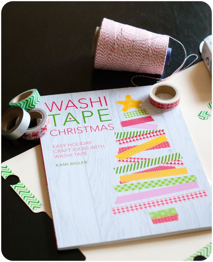 washi tape christmas by kami bigler