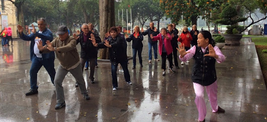 Cours de Tai Chi à Hanoi – petite introduction à l'art martial du Vietnam