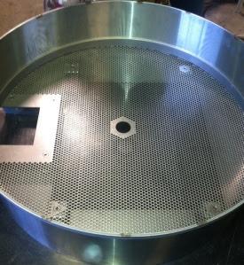 Stainless steel drum. Not coated, 100% steel