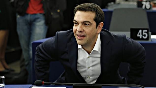 Le premier ministre grec, Alexis Tsipras