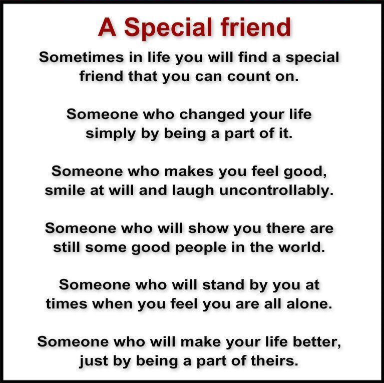 A Special Friend Pictures Photos And Images For Facebook Tumblr
