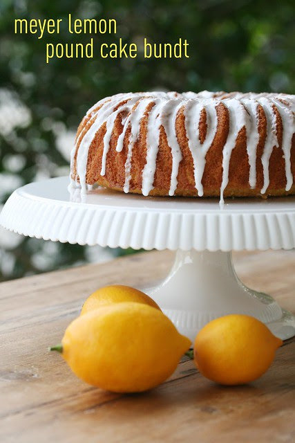 Meyer Lemon Pound Cake Bundt