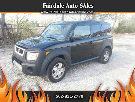Used 2006 Honda Element for Sale in Louisville KY 40214 Fairdale Auto Sales