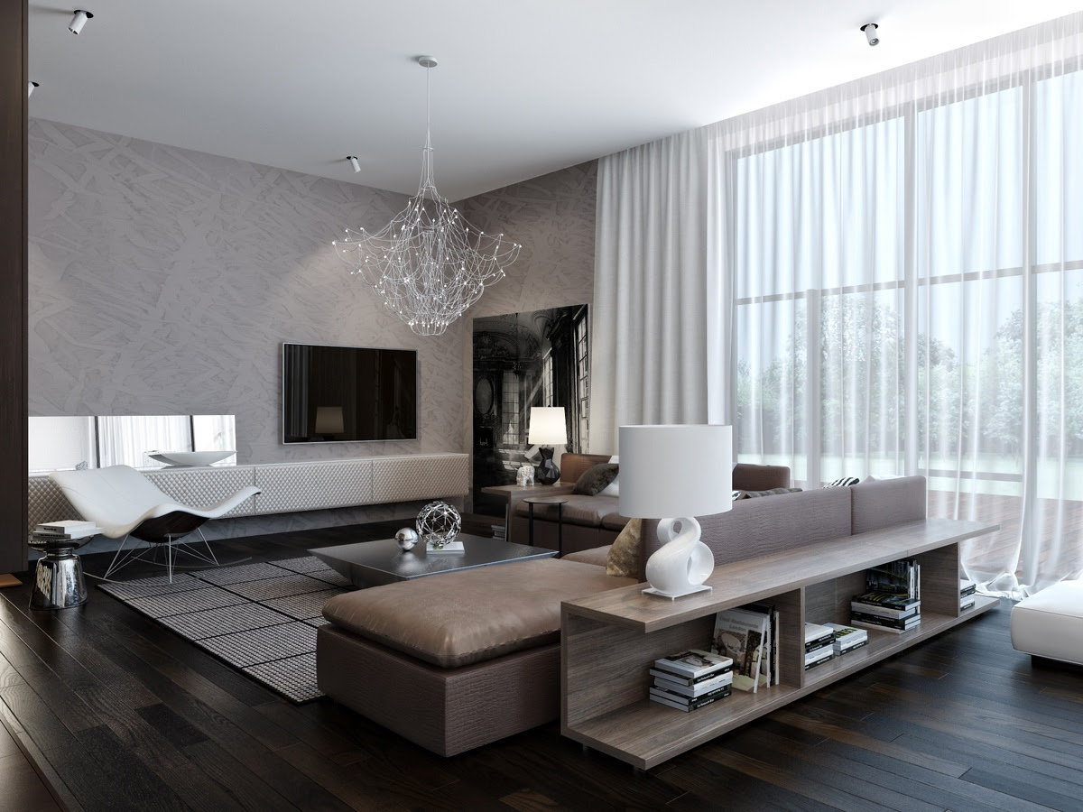 modern living room accessories furniture | House Design Zone