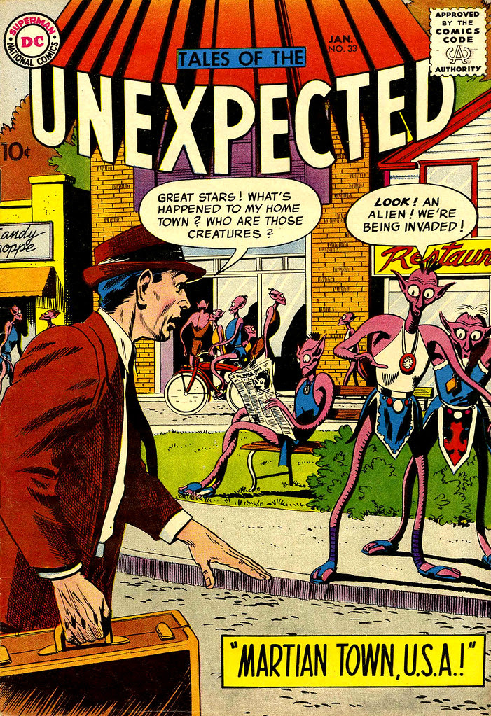 Tales of the Unexpected #33 (DC, 1959) Bob Brown cover