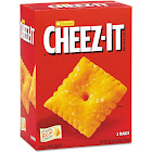 Cheez It Crackers, Baked Snack - 2 pack, 24 oz bags inside