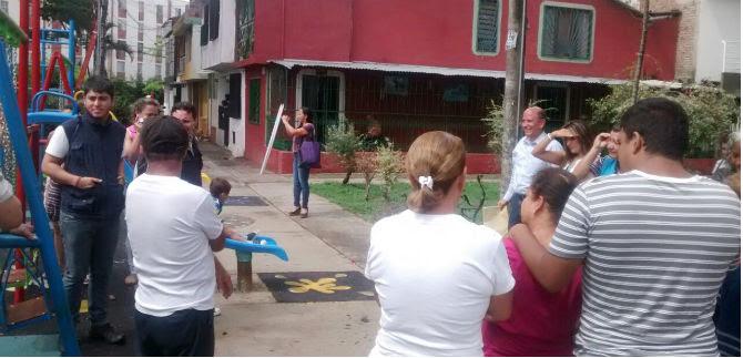 Alcaldía de Cali y Secretaría de Deporte reciben obras para la comunidad