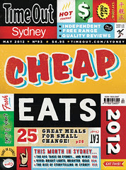 25 Cheap Eats Under $15 - Time Out cover story May 2012
