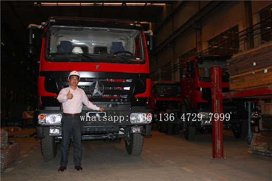 CONGO-10 units beiben 2538 tractor trucks are exported