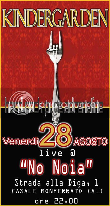 Live @ NONOIA, Casale Monferrato (AL), venerdì 28/08/09