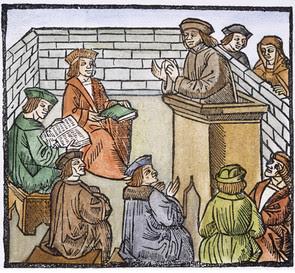 Image result for medieval scholars