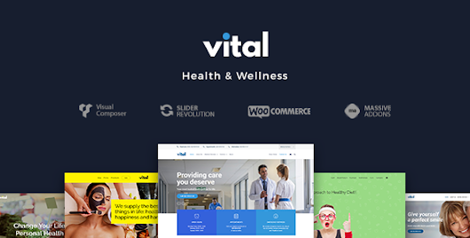 Download Vital | Health, Medical and Wellness WordPress Theme nulled | OXO-NULLED