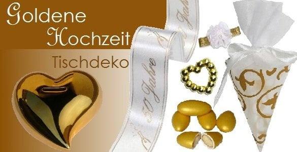 Deko Ideen Zur Goldenen Hochzeit Deneme Ama L