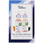 InstaNatural Day & Night Skin Duo Retinol & Vitamin C Serum Kit