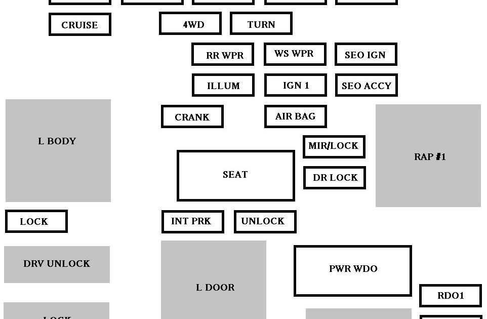 35 2004 Chevy Silverado Instrument Cluster Wiring Diagram