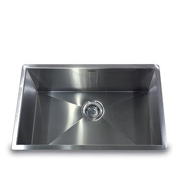 Nantucket Sinks Zr2818 16 28 Inch Pro Series Single Bowl Undermount