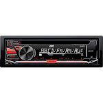 Jvc Kd-r370 Car Cd/mp3 Player - 88 W Rms - Single Din - Detachable Faceplate In-dash - Lcd Display - Cd-rw - Cd-da, Mp3, Wma, Wav - Am, Fm -