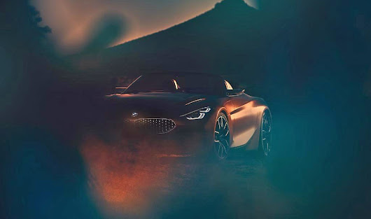 BMW Z4 Concept Teased!