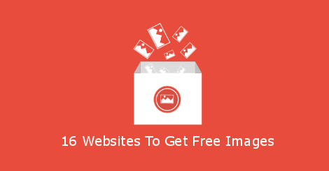 16 Websites To Get Free Images