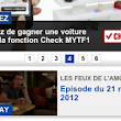 Un lien invisible adapté au mobile : via le « Check In Pub » de TF1
