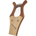 Mid-East Kinnor Harp, Light