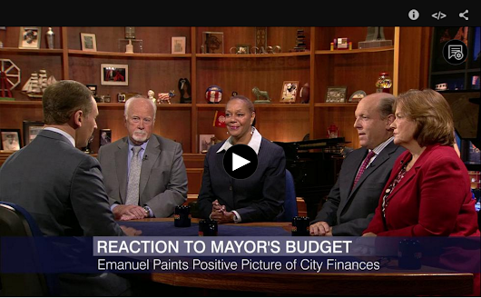 Watch: Alderman Harry Osterman Discuss The Budget & CPS on Chicago Tonight