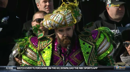Watch Jason Kelce's Entire Unedited Speech Here