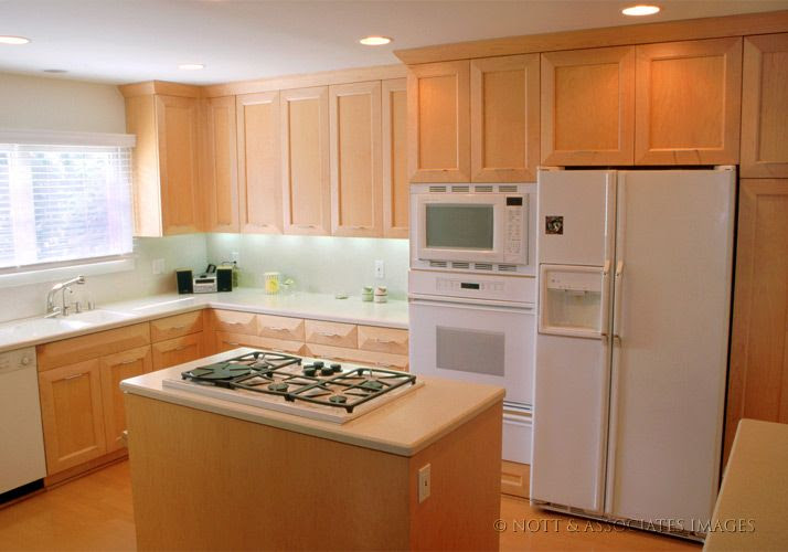 Slab Granite Countertops Maple Cabinets With White Countertops