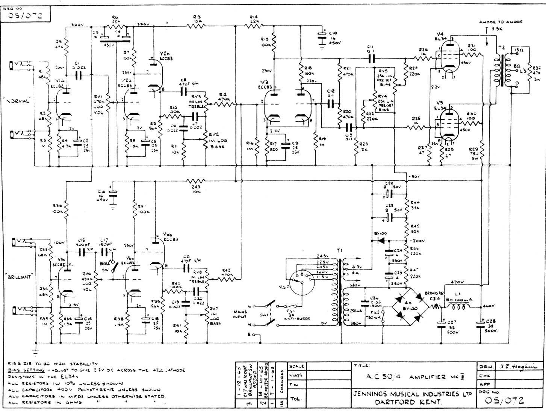 gretsch amp schematic image 6