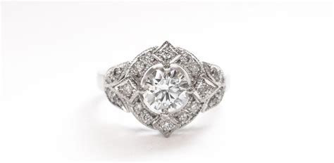 Design your own vintage engagement ring!