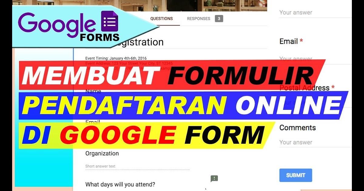 Cara Membuat Kuis Di Google Form
