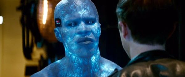 Electro (Jamie Foxx) is bent on causing the Webslinger's destruction in THE AMAZING SPIDER-MAN 2.