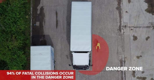 Lorry drivers: THINK! Cyclist when turning left | Moving On
