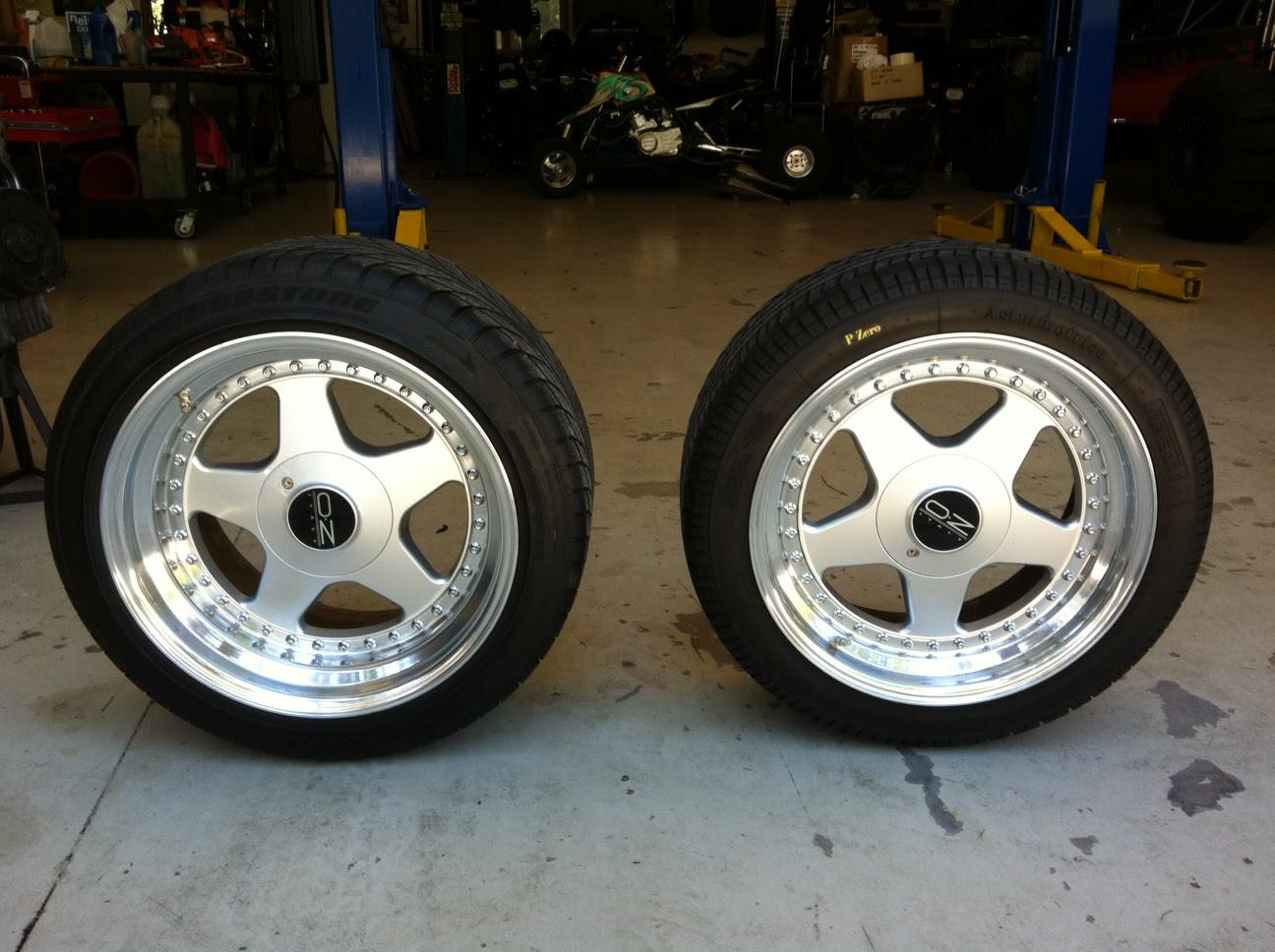 Oz Wheels And Tires Rennlist Porsche Discussion Forums