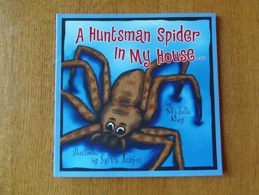 A Huntsman Spider in my House - Book Review