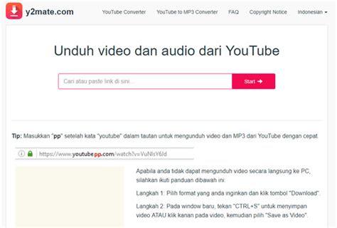 situs converter video youtube terbaik