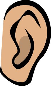 Ear - Body Part clip art