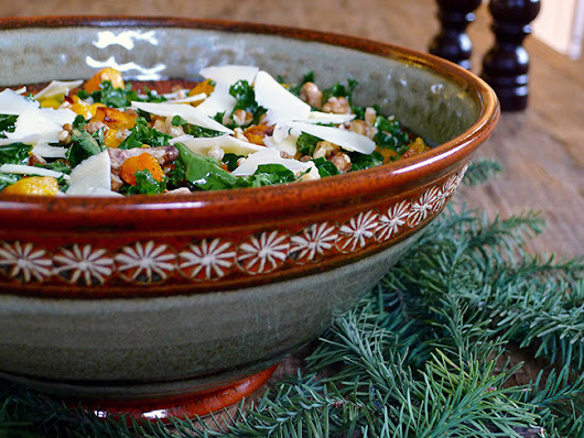 Foodist Approved: Roasted Butternut Squash, Farro and Kale Salad Recipe