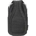Custom LeatherCraft 5127 Large Cell Phone Holster, Black