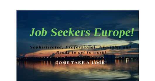 Job Seekers Europe! Looking to hire? #projecthelpyougrow is #ONO!