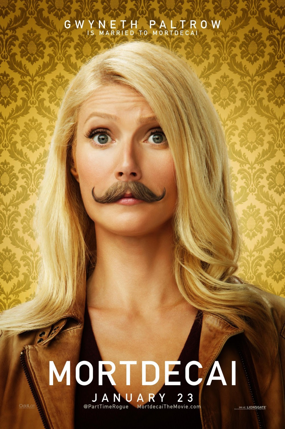 click to see all 4 character posters from Mortdecai.