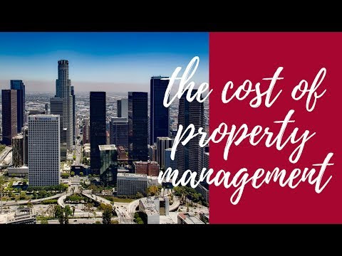 How Much Does Professional Property Management Cost in Los Angeles?