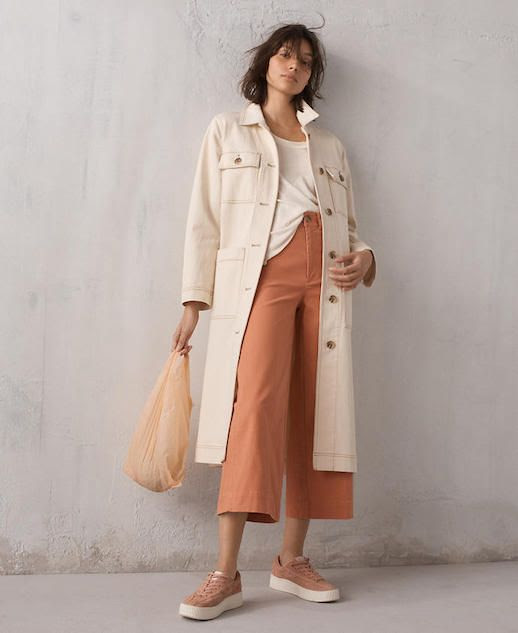 Le Fashion Blog Shop Duster Coats Cream Duster Coat Via Madewell