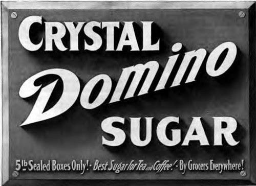 Crystal Domino Sugar 1908 by CharmaineZoe