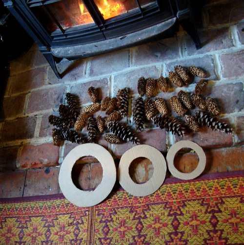fireside crafting