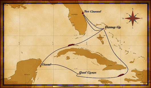 Personal Navigators: 7-Night Western Caribbean Christmas Cruise from Port Canaveral - December 23, 2017 • The Disney Cruise Line Blog