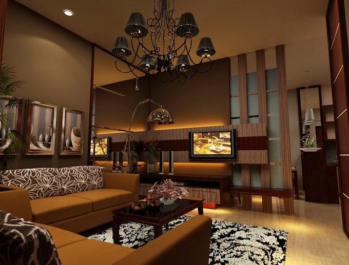 Ruang Tamu Konsep Industrial   Ide Rumah Minimalis