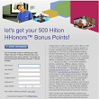 Get 500 Hilton HHonor Points For Liking Hampton Facebook Page | The Points Guide