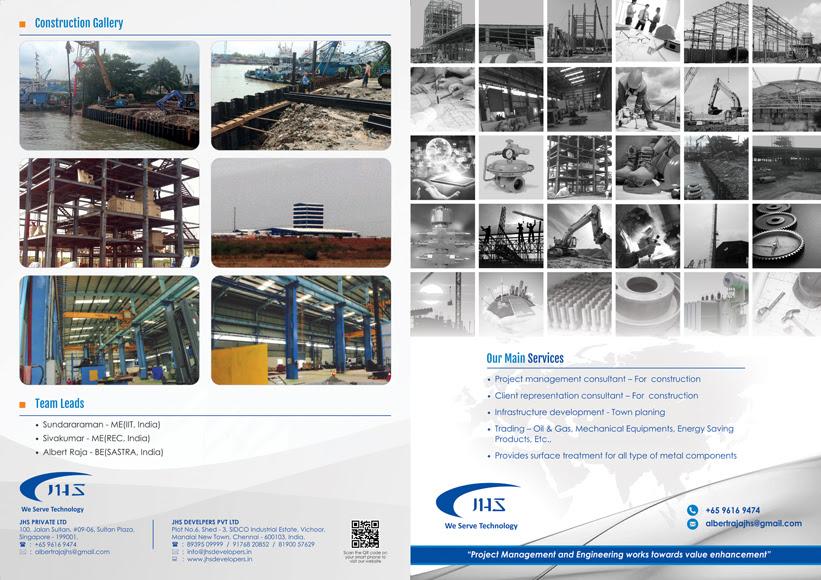 Brochure Design - JHS Developers Pte Ltd, Singapore